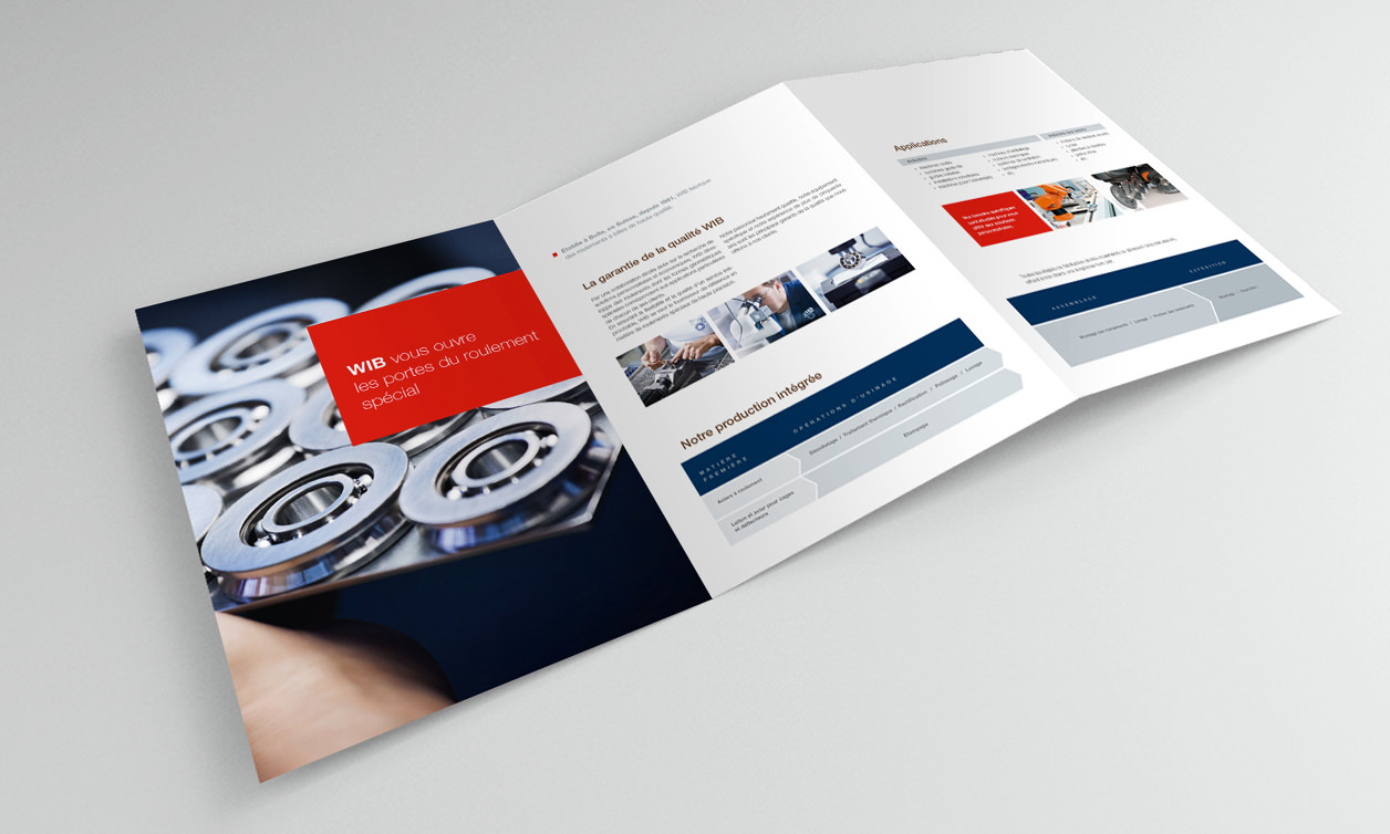 WIB document de vente Corporate identity